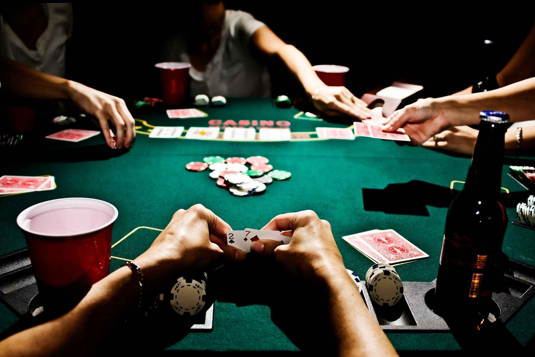 Texas Hold'em, All In