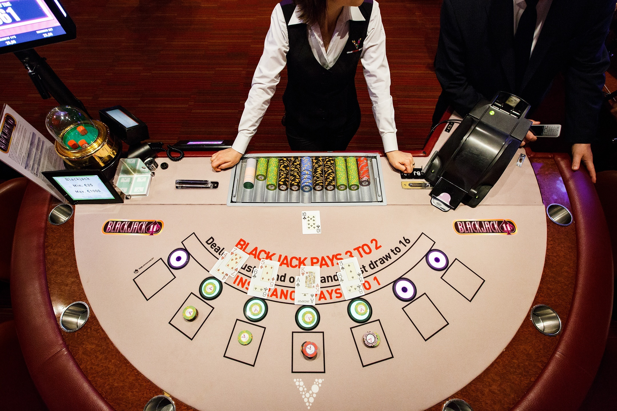 How To Become Master Of Online Blackjack And Not Get Hooked On It