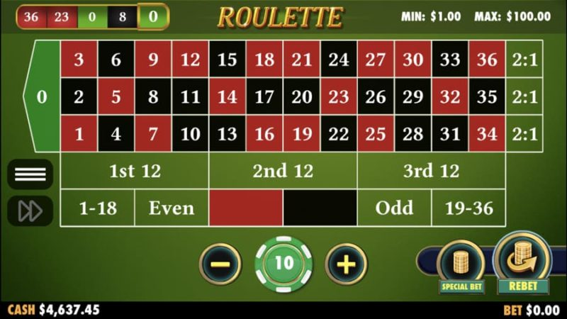 Play Mobile Roulette Games Free and Win