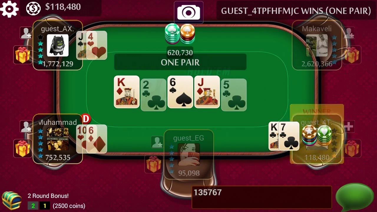 Online Free Poker Game Tips