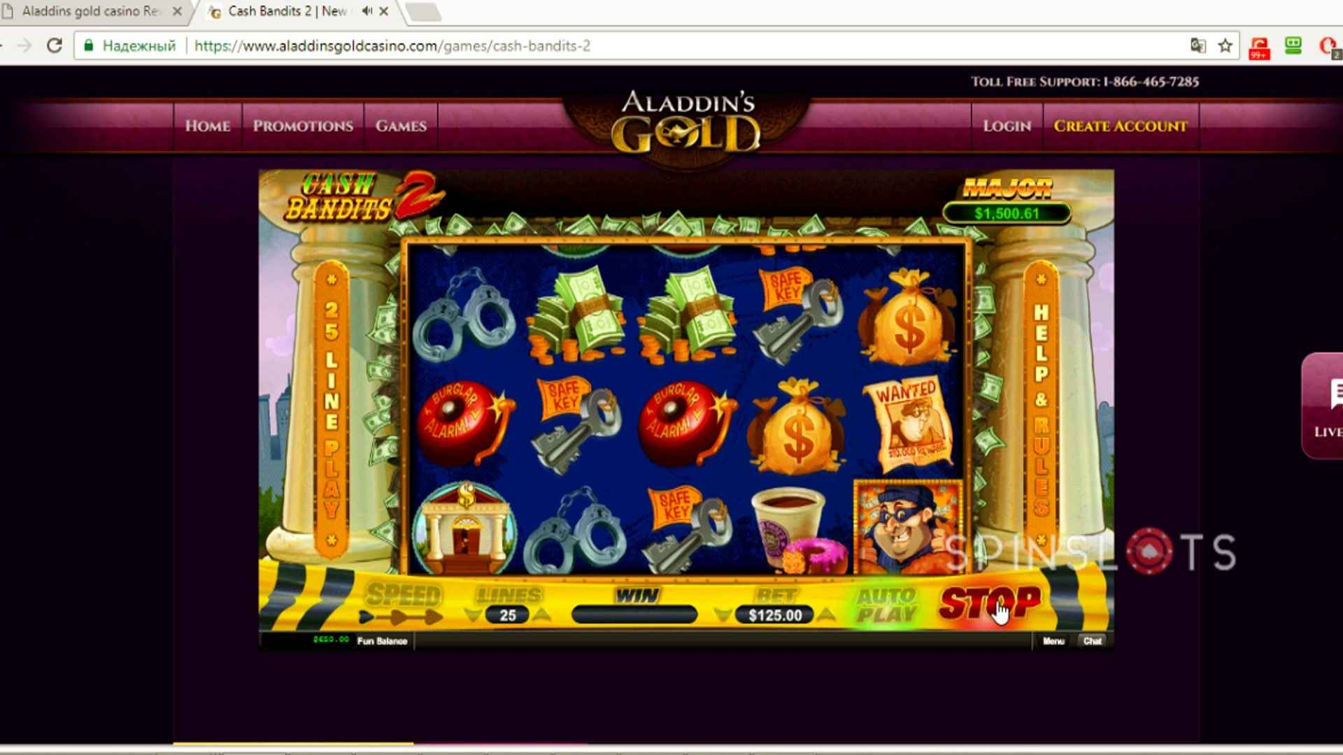 Aladdins Gold Casino Offers New Players Unlimited Bonuses